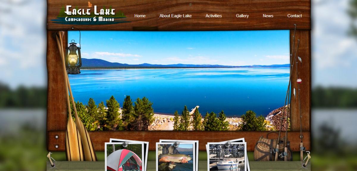 Eagle Lake Recreation Area – Poster Design