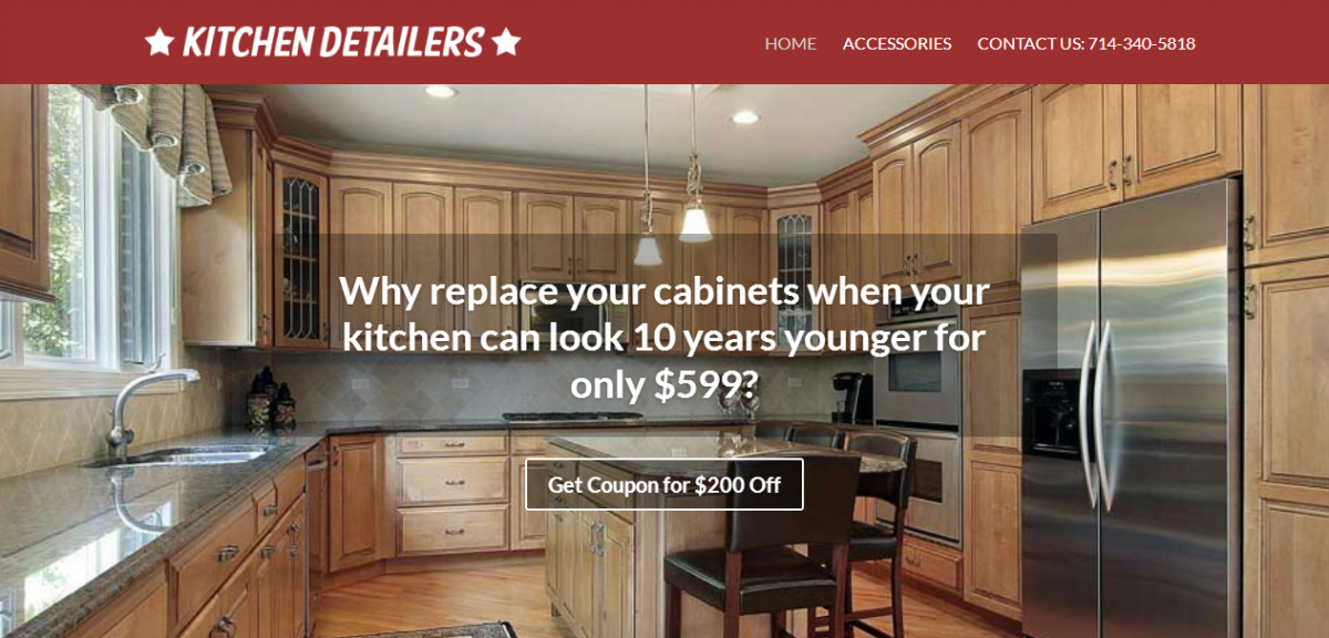 Web Design for Kitchen Detailers