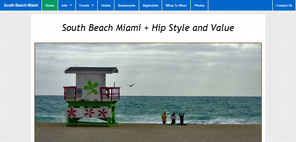 South Beach Miami - Hip Style and Value