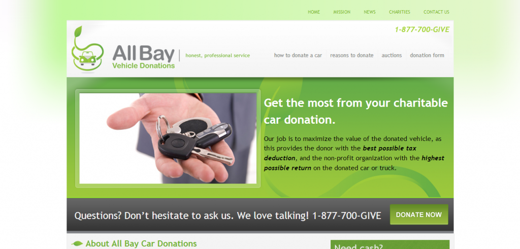 All Bay Vehicle Donations