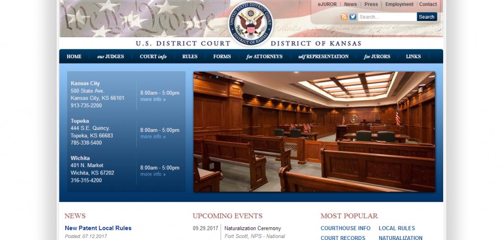 U.S. District Court of Kansas