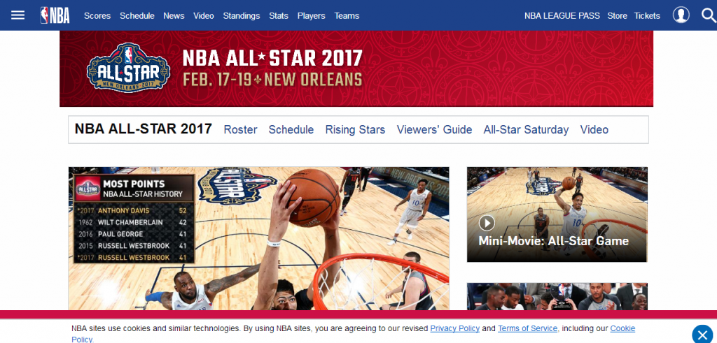 NBA All STAR GAME. ☆ WEST ☆
