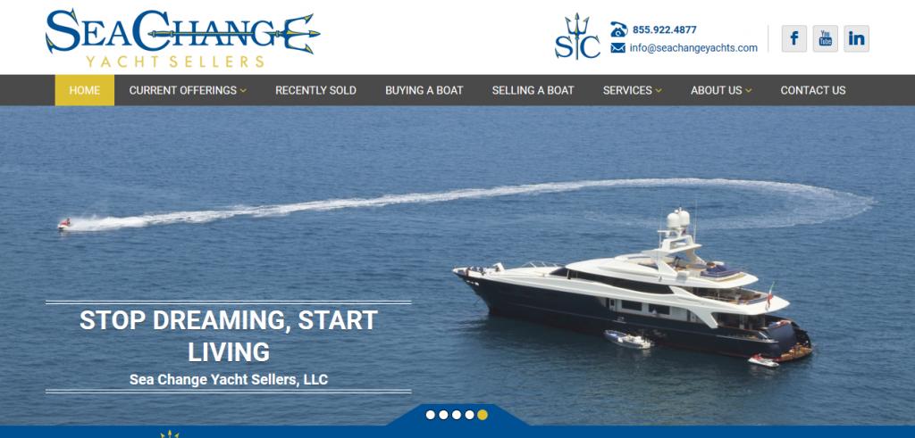 Sea Change Yacht Sellers