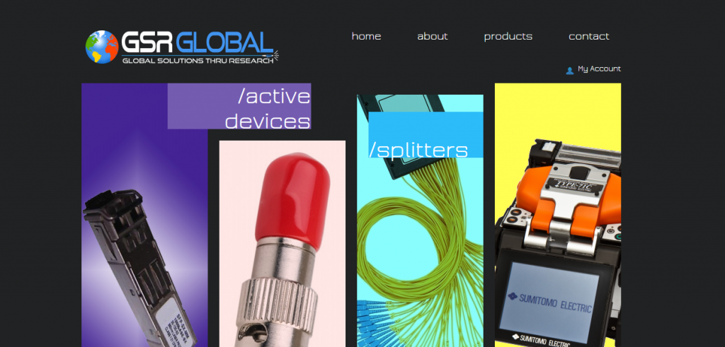 GSR Global | Web Page Design