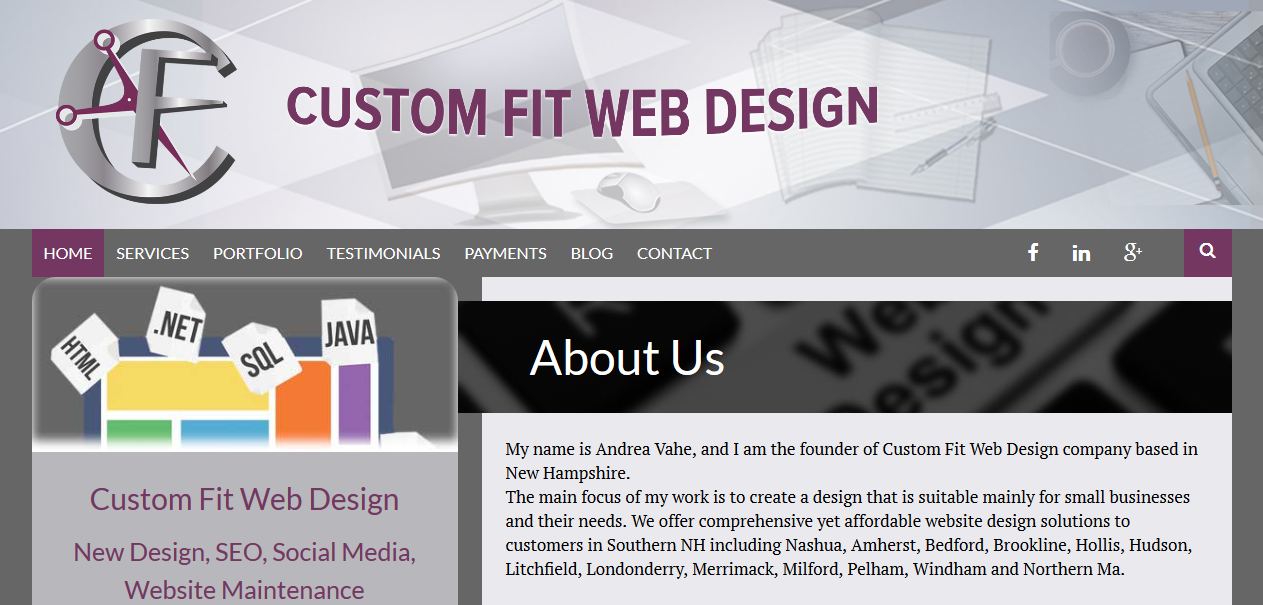 Custom Fit Web Design, LLC