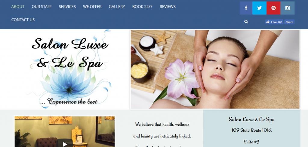Salon Luxe & Le Spa