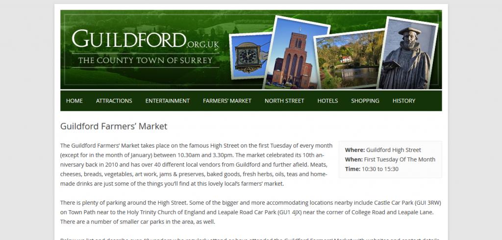 Gilford Farmer's Market