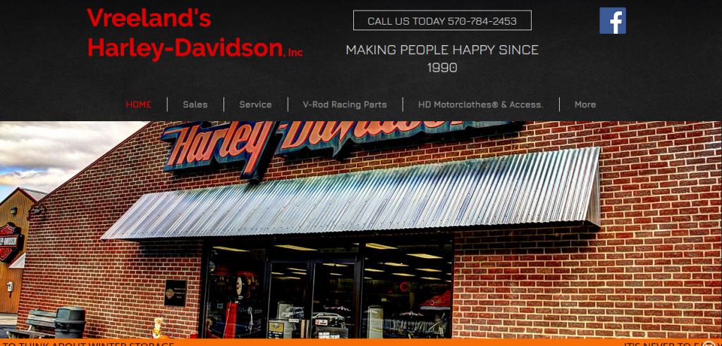 Vreeland's Harley Davidson
