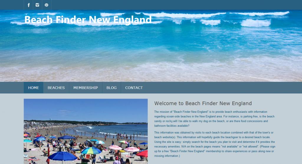 Beach Finder New England