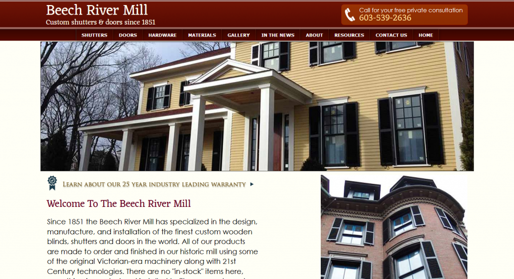 The Beech River Mill