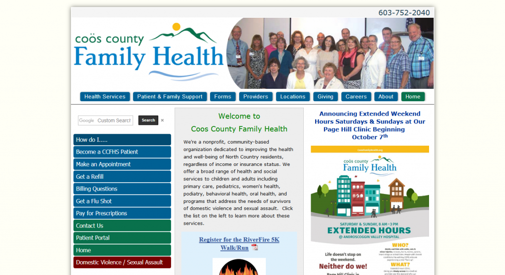 Coos County Family Health