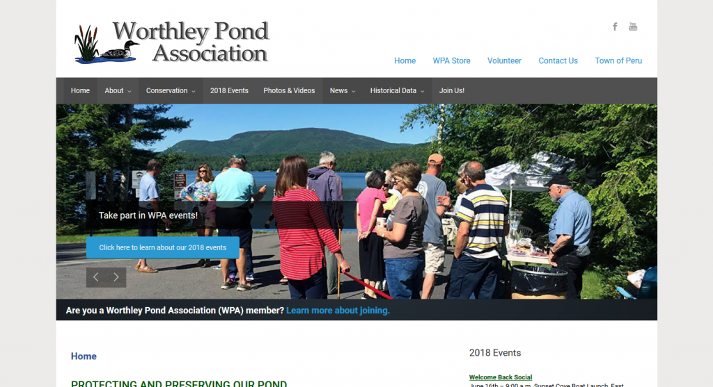 The Worthley Pond Association