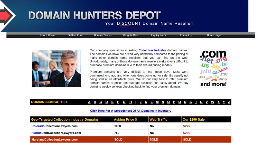 DomainHuntersDepot.com