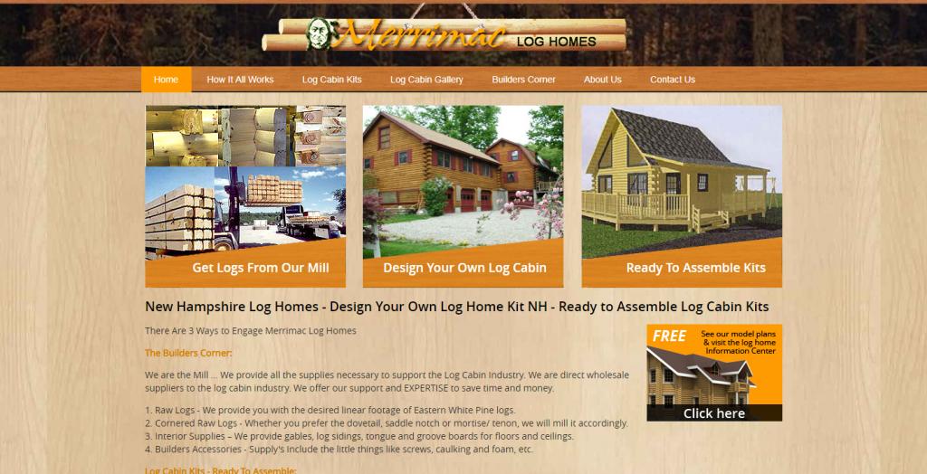 Merrimac Quality Log Homes