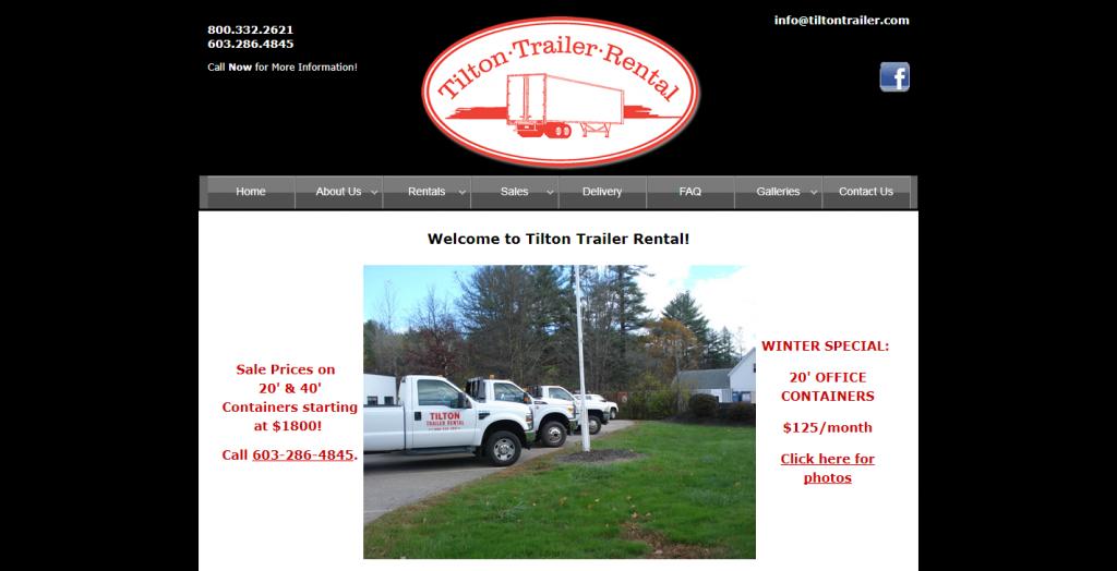 Tilton Trailer Rental