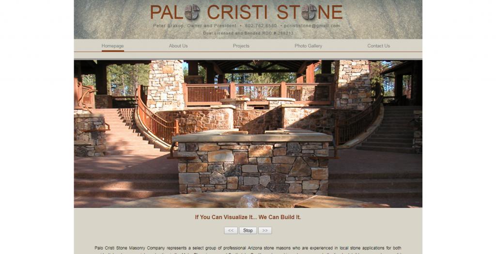 Palo Cristi Stone Masonry Company