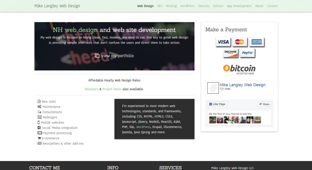 Mike Langley Web Design LLC