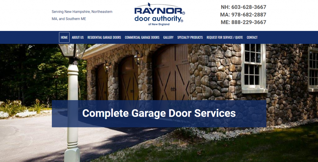 Raynor Door Authority of New England
