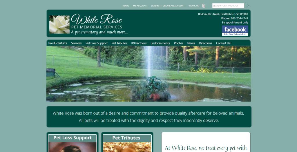 White Rose Pet Memorial Services