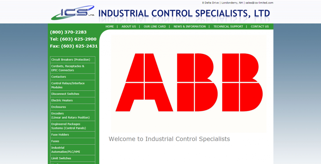 INDUSTRIAL CONTROL SPECIALISTS, LTD