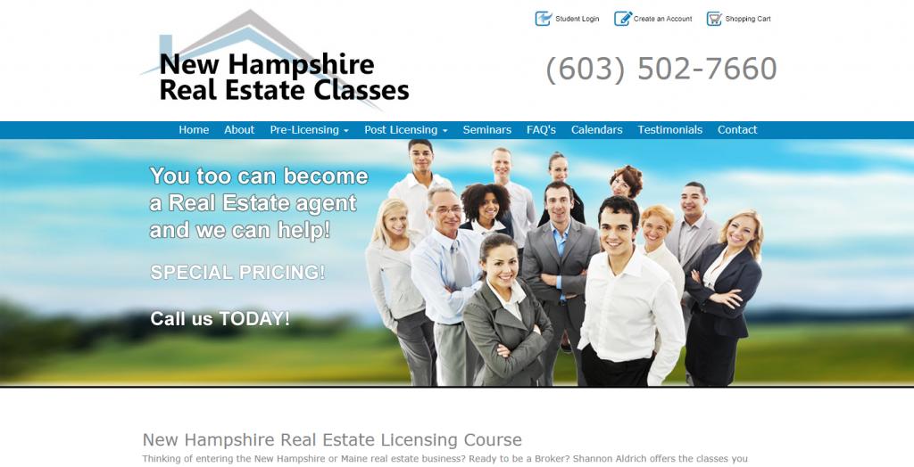 New Hampshire Real Estate Classes