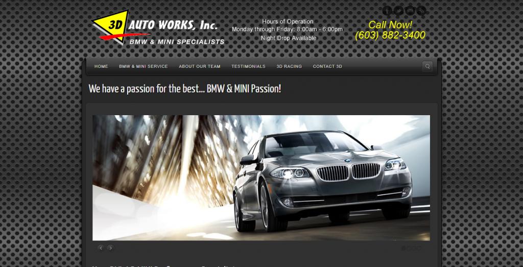 3D Auto Works, Inc