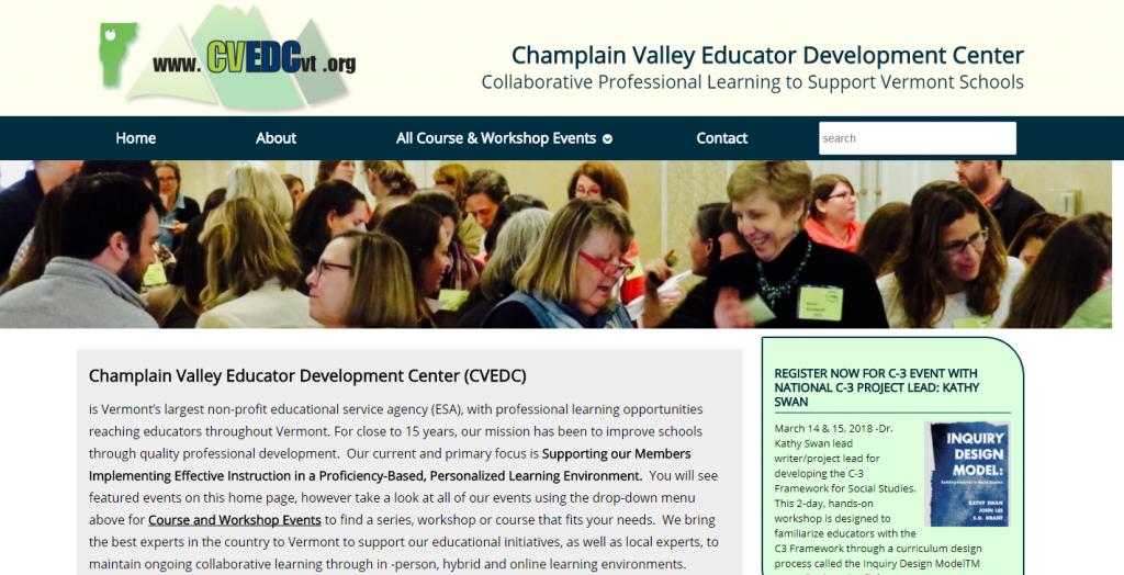 Champlain Valley Educator Development Center