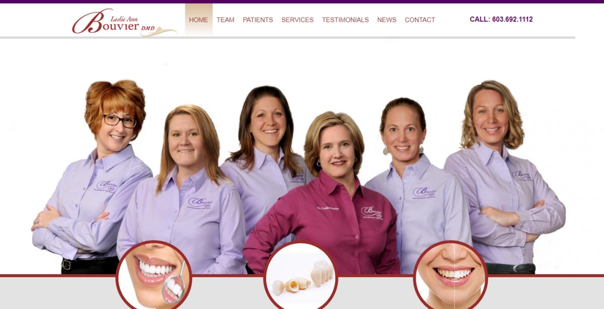 Dr. Leslie Bouvier Dental Website