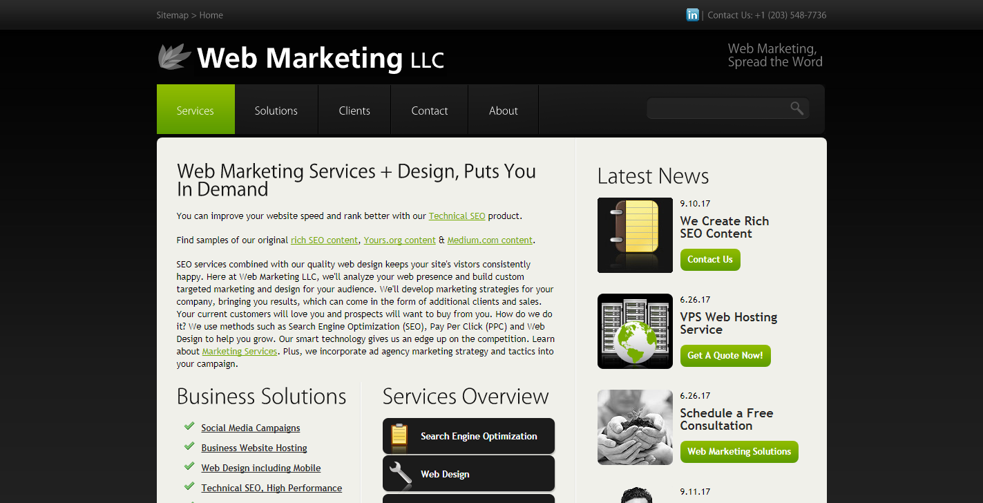 Web Marketing LLC