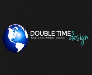 Double-Time Design Logo