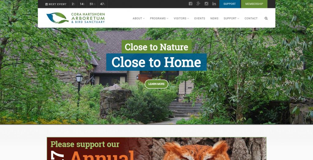 Cora Hartshorn Arboretum & Bird Sanctuary