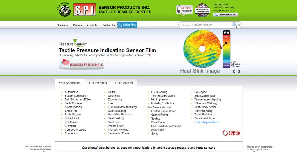 Sensor Products