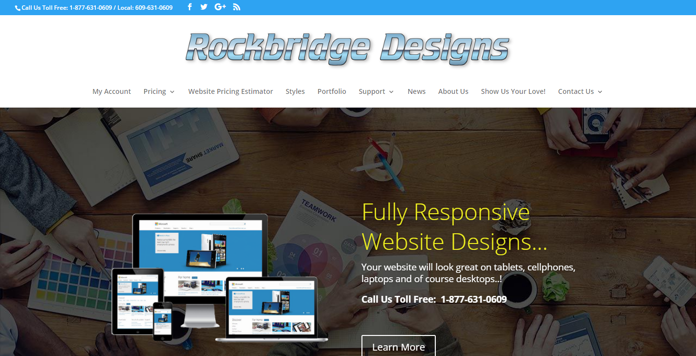 Rockbridge Website Design NJ