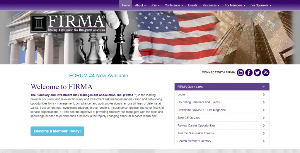 The Fiduciary and Investment Risk Management Association, Inc. (FIRMA™)