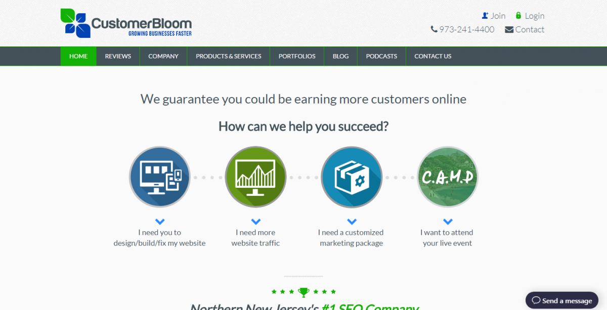 CustomerBloom