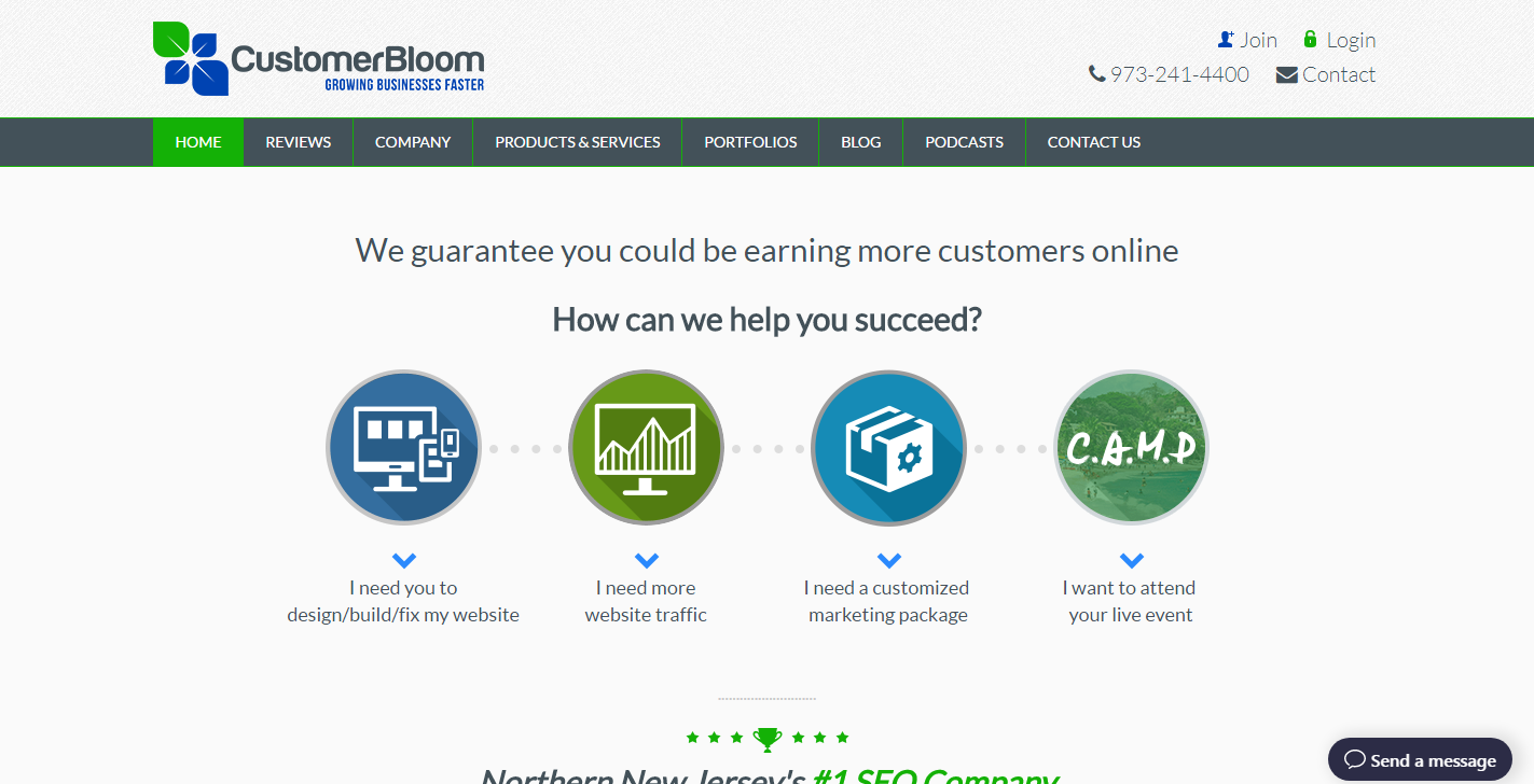 CustomerBloom