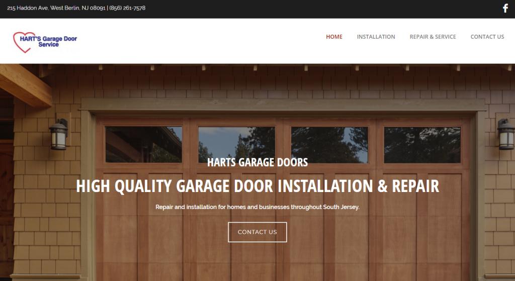 Hart's Garage Door