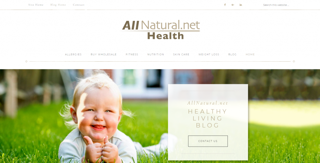AllNatural.net Healthy Living Blog