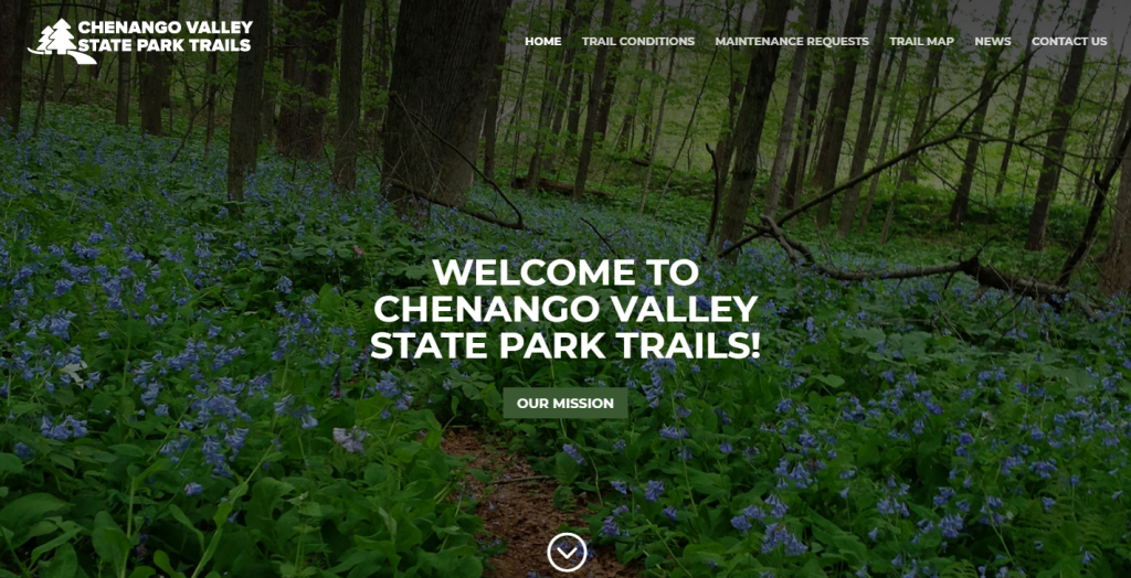 Chenango Valley State Park Trails
