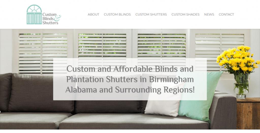 Custom Blinds & Shutters of Alabama