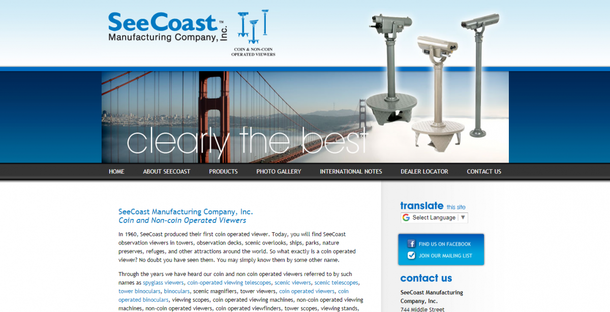 SeeCoast Manufacturing Company