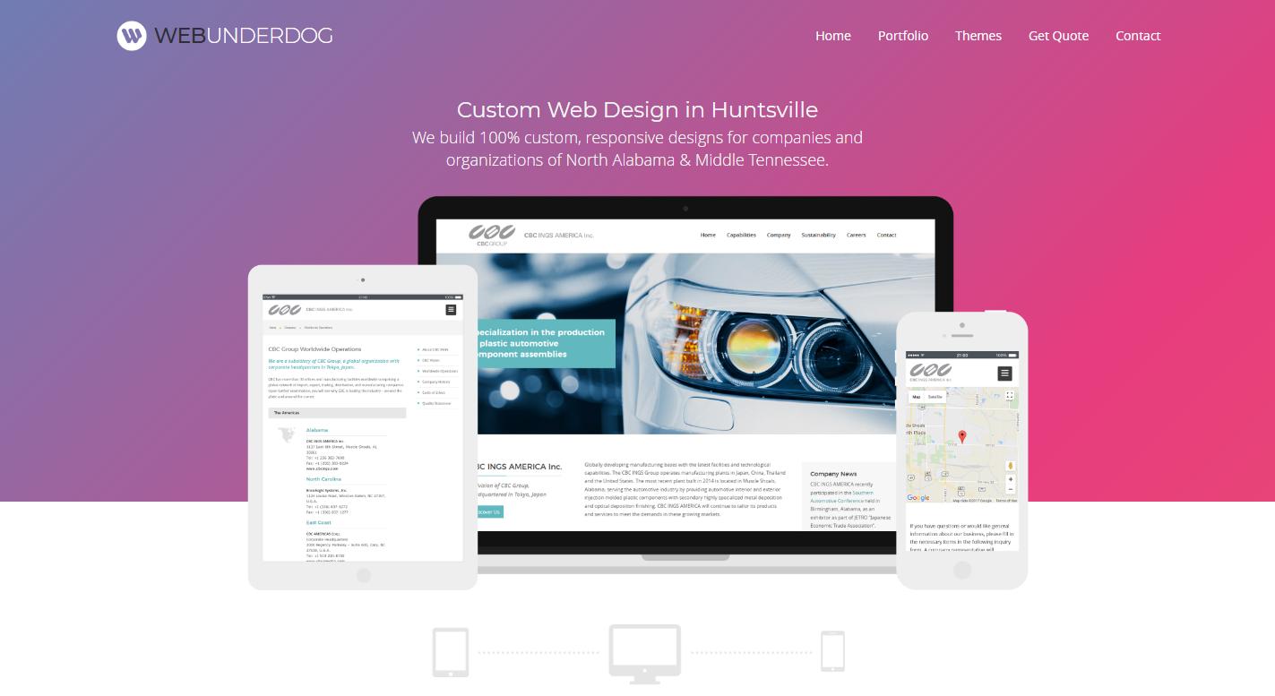 Webunderdog Web Design