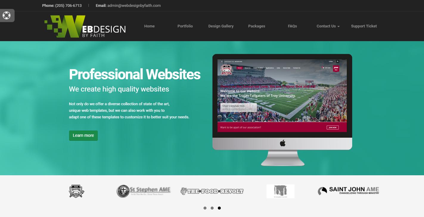 Web Design By Faith Logo