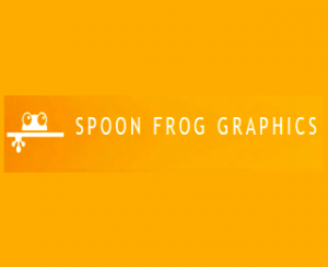 SPOON FROG graphics Logo