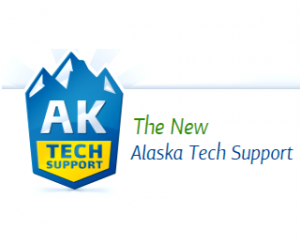 Alaska Tech Support Logo