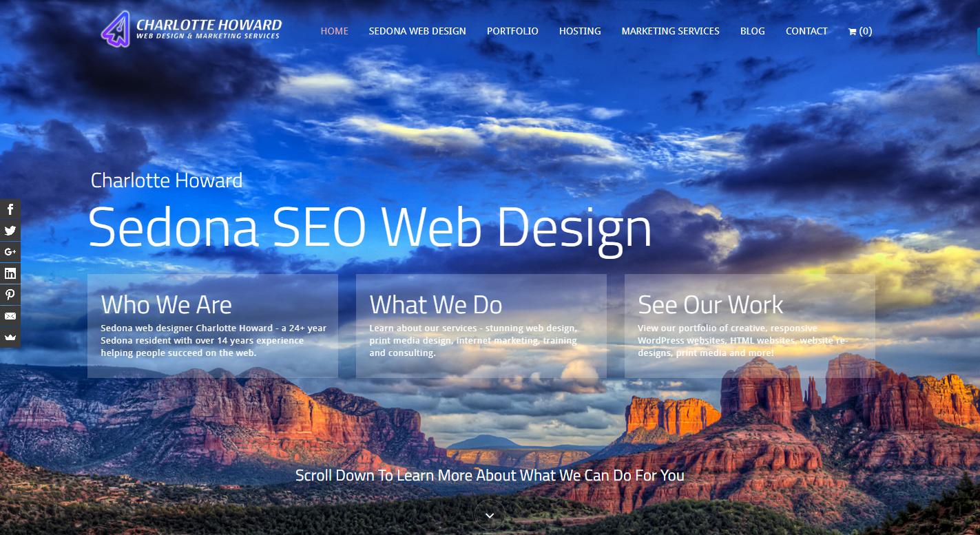 Charlotte Howard Sedona SEO Web Design