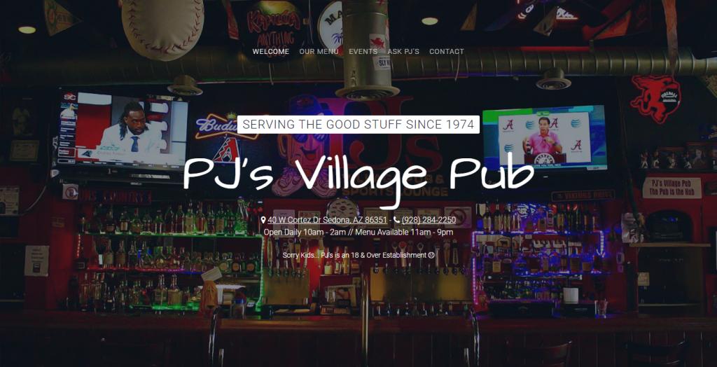 PJ'S VILLAGE PUB