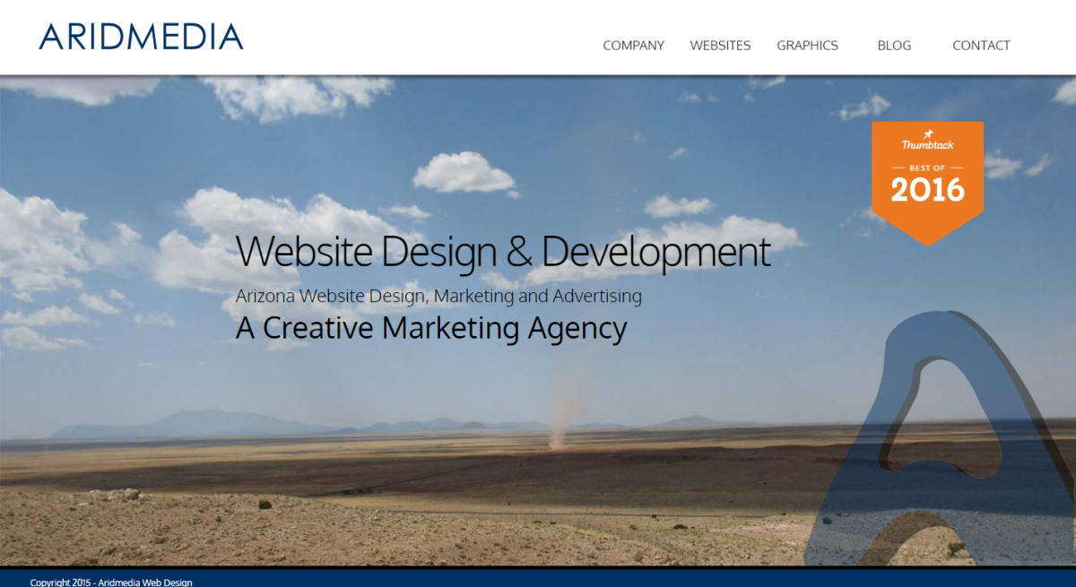 Aridmedia Web Design