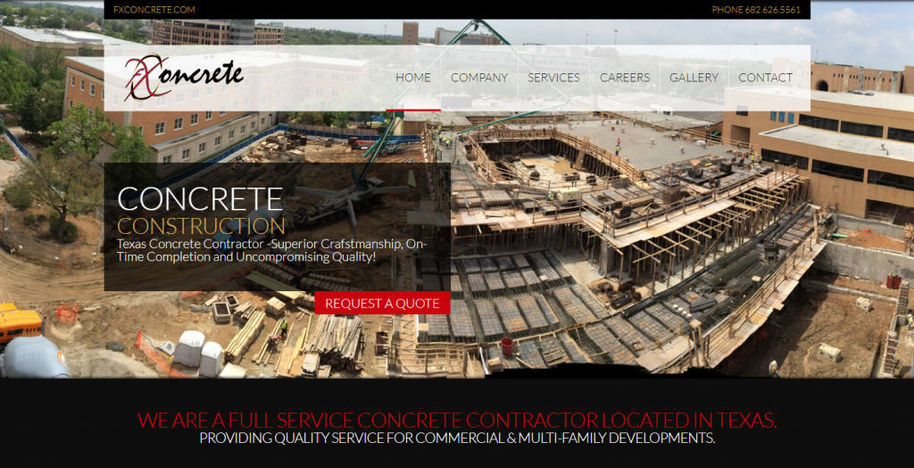 WEBSITE -FX Concrete