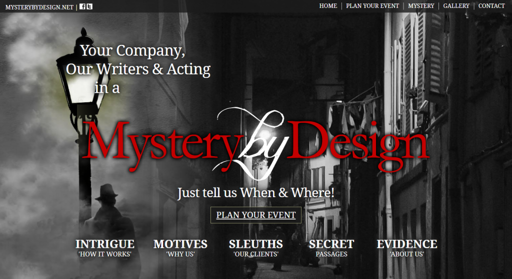 Mystery By Design